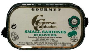Conservas Cambados Small Sardines in Extra Virgin Olive Oil