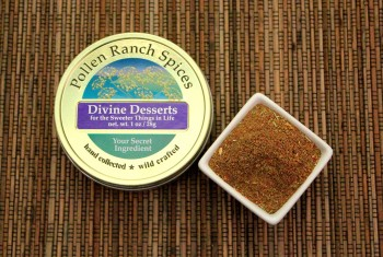 •	Divine Desserts Fennel Pollen Spice Blend from Pollen Ranch