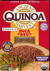 Ancient Harvest Inca Red Quinoa Organic Glutenfree