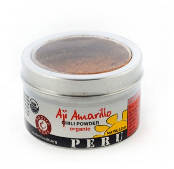Organic Aji Amarillo Powder