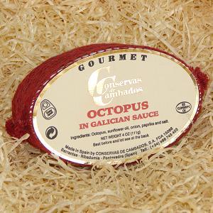 Octopus Galician Sauce Conservas Cambados
