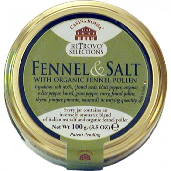 Fennel Salt with Organic Fennel Pollen
