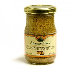 Edmond Fallot Honey and Gingerbread Dijon Mustard
