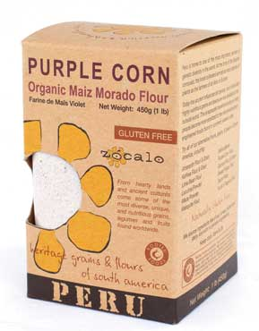 Purple Corn Organic Flour