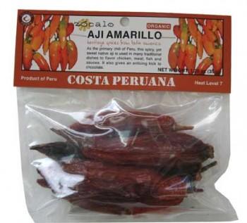 Aji Amarillo Organic Chili Pods