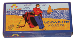 Arroyabe Spanish Anchovies