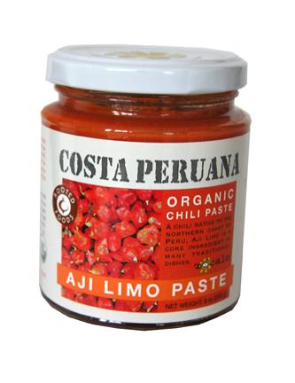 Aji Limo Paste Organic Gluten-free
